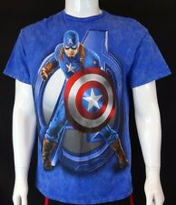 CAPTAIN AMERICA FIRST AVENGER CIVIL WAR MARVEL COMICS OFFICIAL T-SHIRT SIZE L