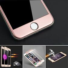 Full Cover Arc Tempered Glass Carbon Fiber Screen Guard Film For iPhone 6 6 Plus