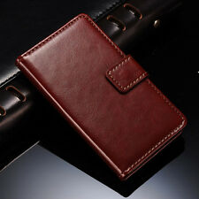 Leather Case For LG Optimus L5 E610 E612 New Glossy Flip Wallet Stand Cover Skin