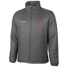 New York Mets Columbia Mighty Lite Omni-Heat Full-Zip Jacket - Gray - MLB