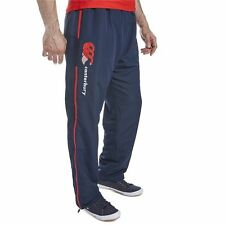 Canterbury CCC Mens Open Hem Stadium Pants Training Bottoms Navy / Red XS - 4XL