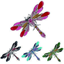 Honorable Brooch Rhinestone Crystal Cool Alloy Women Dragonfly Pin & Brooch