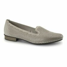 Rieker 51977-40 Ladies Womens Leather Slip On Casual Comfort Loafers Shoes Grey