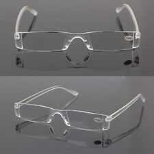 Presbyopia 1.50-4.00 Diopter Eyeglasses Clear Rimless Reading Glasses AB BC FD