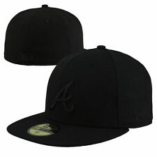 Atlanta Braves New Era Tonal 59FIFTY Fitted Hat - Black - MLB