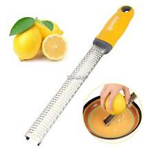 Homox Multipurpose Zester Grater for Lemon/Citrus/Cheese Stainless Steel ES9P