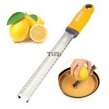 Homox Multipurpose Zester Grater for Lemon/Citrus/Cheese Stainless Steel TXCL