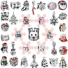 Fashion Holiday Gifts Bead 925 Sterling Silver Charms For Brand Women Bracelets