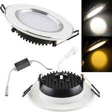 3W/5W/7W/9W/12W/15W Power LED Recessed Ceiling Panel Down Light Lamp Round