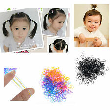 400pcs Ponytail Elastic Hair Rubber hair band wholesale Lots baby dog doll small