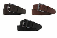 $295 Ralph Lauren Mens Made In Italy Leather Single Prong Buckle Belt New