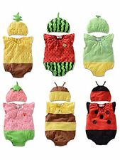 Newborn Kids Baby Boy Girl Infant Romper Jumpsuit Insect Bodysuit Outfit Clothes