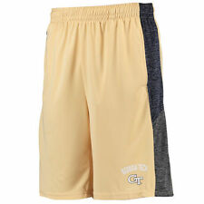 Georgia Tech Yellow Jackets Colosseum Friction Shorts - Gold - College