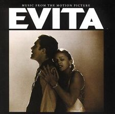 Evita: Music from the Motion Picture by Madonna/Andrew Lloyd Webber (1997 - CD)