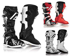 Acerbis X-Pro Boots Motocross Enduro Cross black white red Size 42-47