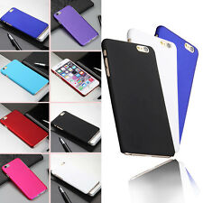 Matte Ultra Thin Rubberized Hard Back Cover Case Skin For iPhone 4 5S 6 6Plus