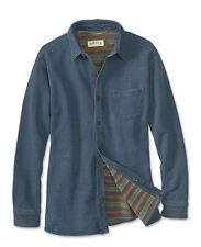 Orvis Indigo French Terry Shirt Jacket