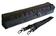 FLUTE CASE COVER - CARRY BAG Faux Leather with Strap ( C or B foot -your choice)