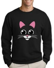 Cat Face - Best Gift for Cat Lovers Cute Animal Lover Sweatshirt Gift Idea
