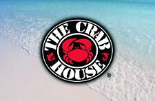 The Crab House Gift Card $50/ $75 US Mail Delivery