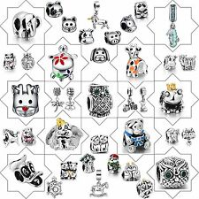 New Hot 2017 Jewelry 925 Sterling Silver Charms Animal style Beads For Bracelet