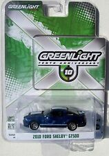 GREENLIGHT GL MUSCLE SERIES 7 10TH ANNIVERSARY 2010 FORD MUSTANG SHELBY GT500