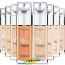 Loreal True Match Super Blendable Foundation 30ml, 7 Shades, 24H Hydration