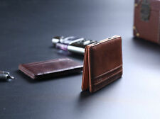 Mens Magic Wallet Leather Slim Money Clip Credit Card Holder ID Business New LCF