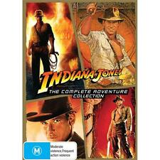 Indiana Jones QUADRILOGY Collection 1 - 4 : NEW DVD