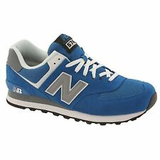 New Balance Core 574 Blue White Mens Trainers