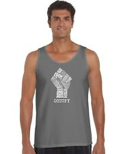 Men's Tank Top - OCCUPY WALL STREET - FIGHT THE POWER