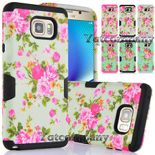 Hybrid Hard Bumper Soft Rubber Skin Case Cover For Samsung Galaxy Note 5 Phone