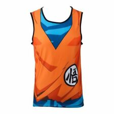 Sleeveless Tank top T Shirt Dragon Ball DBZ  Saiyan Goku Anime Sports Costume
