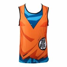New 3D Sleeveless Tank top T Shirt Dragon Ball DBZ  Saiyan Goku Anime Costume
