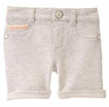 NWT Gymboree Ice Cream Parlor Heather Grey Stretch Bermuda Shorts Size 2T-5T