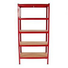 5 TIER BOLTLESS INDUSTRIAL RACKING BAYS GARAGE STORAGE SHELVING