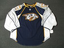 New Nashville Predators Pro Stock Reebok Edge 2.0 Blank Hockey Jersey Authentic