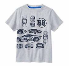 NWT Gymboree Boys Gray Awesome Race Car T-Shirt Top Size 7 8 & 10