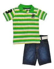 Beverly Hills Polo Club Toddler Boys Polo 2pc Short Set Size 2T 3T 4T $29.99