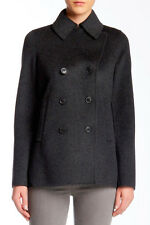 VINCE Womens S-M-L Wool Peacoat Soft Double Face Jacket Coat $625 Spring Fall