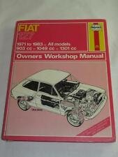 VINTAGE HAYNES OWNERS WORKSHOP MANUAL1970s SELECTION Mini Renault Cortina Datsun