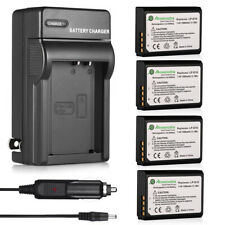LP-E10 Battery + Charger For Canon Rebel T3 T5 Kiss X50 EOS 1100D 1200D Camera