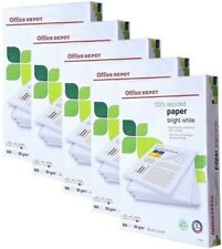 2 3 4 5 10 15 20 25 50 Reams Box A3 Bright White 80gsm Recycled Printer Paper