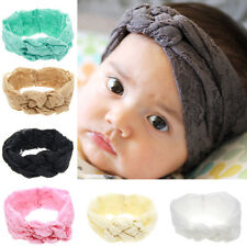 Baby Newborn Rose Bow Lace Headband Cute Toddler Hairband Headdress Accessories