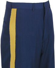 "US Army Men's ASU ""C"" Dress Blues Service Uniform Braided Trousers/Pants/Slacks"