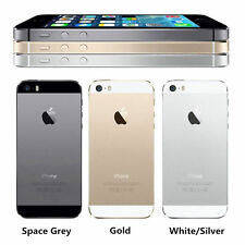 iPHONE SELECTION of 5 5S BLACK WHITE FACTORY REFURBISH & UNLOCK INSURED DELIVERY
