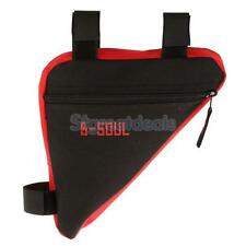 Outdoor Bike Cycling Bicycle Front Tube Frame Triangle Pouch Bag Saddle Panniers