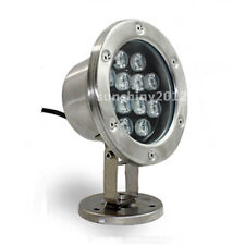 NEW 12W LED Underwater Light Swimming Pool Light Flood lamp IP68 Waterproof 12V