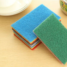 10pcs Useful Cleaning Pad Scour Scrub Cleaning Pad Kitchen Home Medium Pad