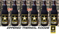 US ARMY STAR USA Bottle KOOZIE COOLER Coozie Wrap Insulator Sleeve Jacket Holder